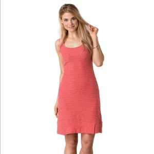 Toad and Co Samba Wave Tank Dress Spiced Coral L